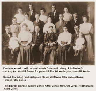 Rollin Horton Wickenden family