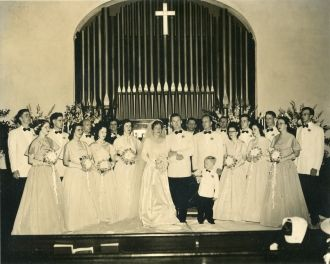 Unknown wedding, Kentucky