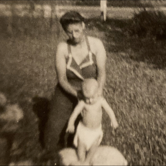 Keetsie Bea Pace and her daughter Loretta Marie Pace Locke Huntley