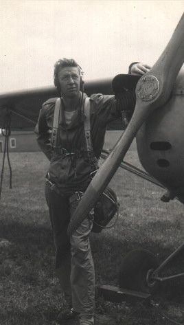 Pat O'Toole & his plane