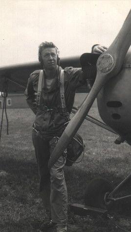 Pat O'Toole & his plane