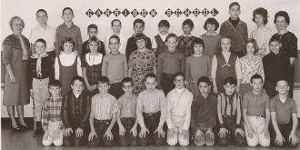 Garrison School class, Gr 4/5, Kinkaid,Thompson