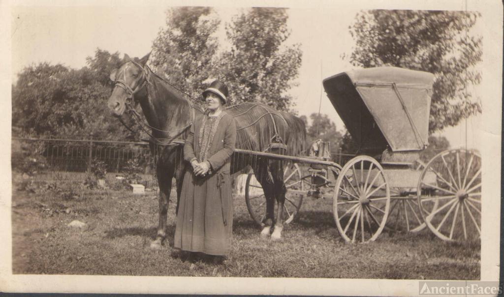 Clara Anderson 1928
