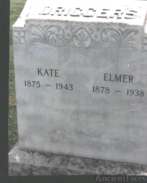 Tombstone: Driggers, Elmer and Kate