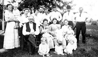 Fred Jensen and family