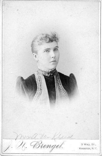 A photo of Bertha Barringer