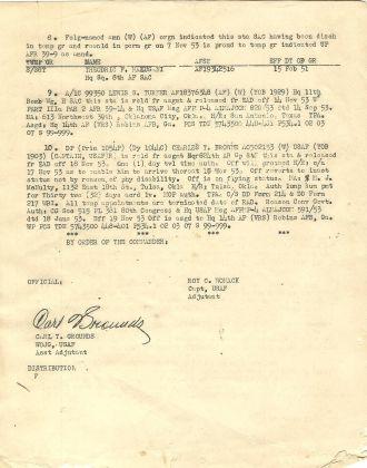 Weldon G. Johnson orders pg 2