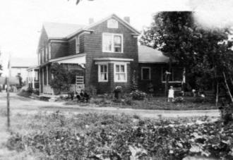 Van Kleeck family home in 1930