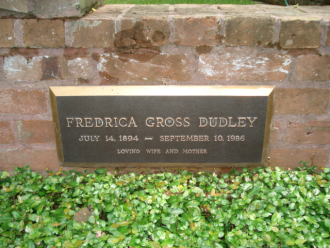 Mary Frederica (Gross) Dudley