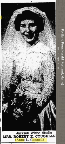 A photo of Anne Louise (Connell) Coughland