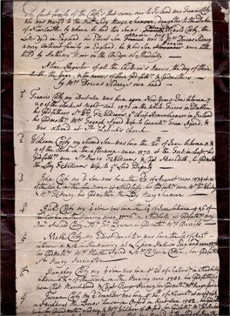 Dorcas Sydney Cosby family history