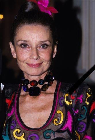 Audrey Hepburn's last photo