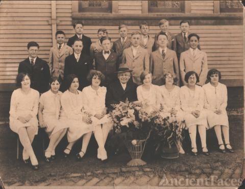 Sadie & Cora Eppley, PA 1927