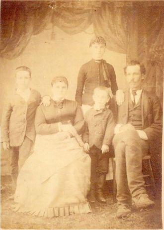 Alvin Knowlton Family, Michigan