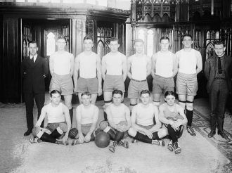 Catholic University basketball, 1920