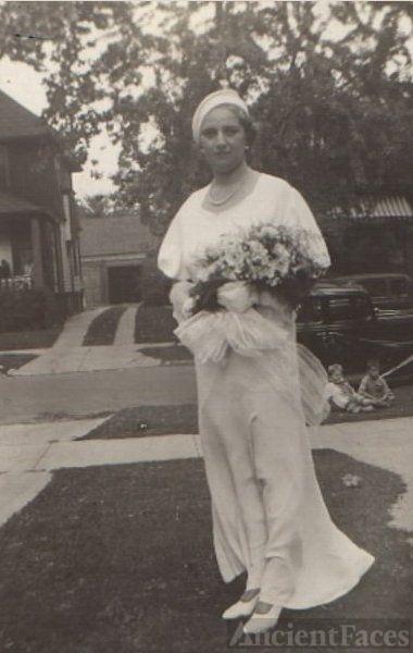 Elizabeth Jane Rider Wedding Day 1934
