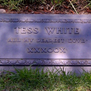 Tess White's Grave