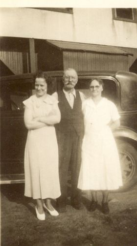 Story and Anna Smith plus mystery girl