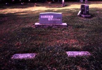 Olsens at Roselawn Cemetery