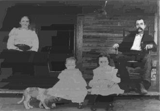 Lewis Maroni Baker & family