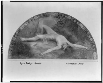 Lyric poetry; Adonis / H.O. Walker, artist.