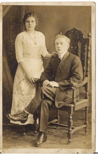 Stephen & Natalie Schindelar, NY 1925