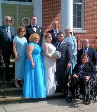 Eileen Joyce Adamson Neil wedding