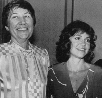 Marion Dougherty and Sally Field.