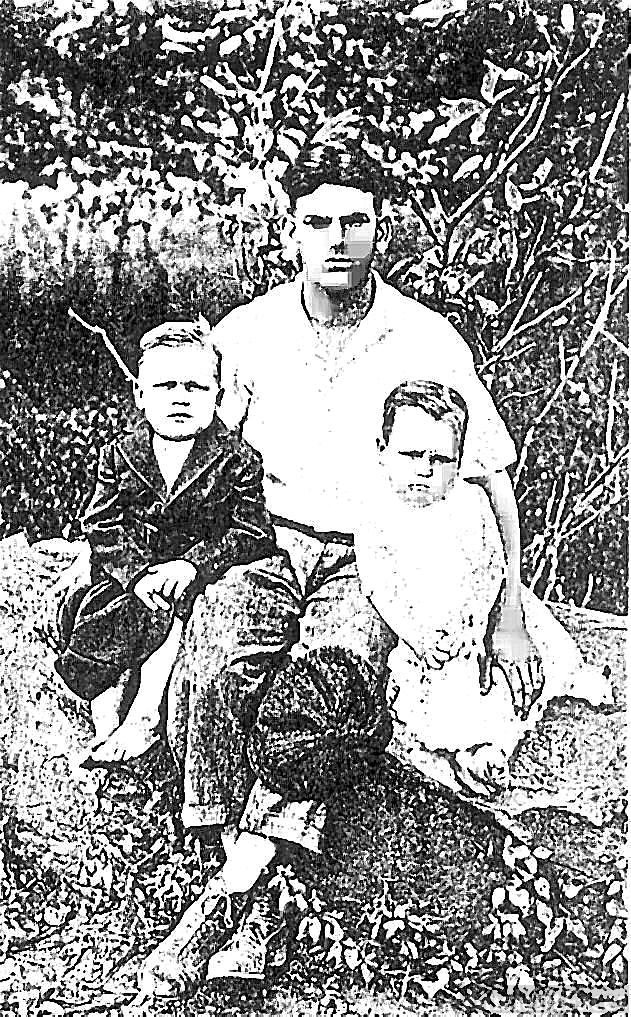 Sons of John and Lular Cook Powell