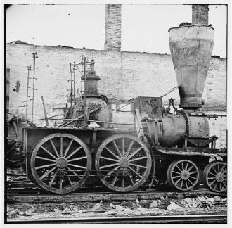 1860's Steam Powered Locomotive
