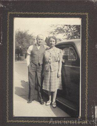 Daniel Forsey & wife  Annie Maude Keeping