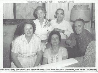 """Mary Ellen """"Mae""""  (Feck) Bradley"""