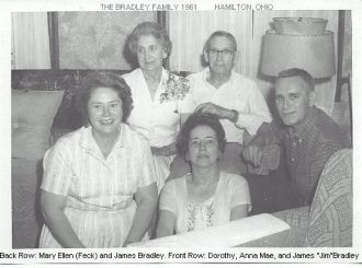 The Bradley Family in 1961
