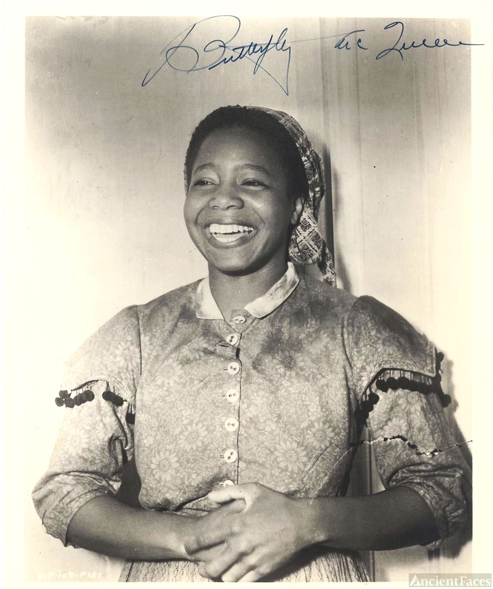 "Butterfly McQueen, ""Gone With The Wind."""