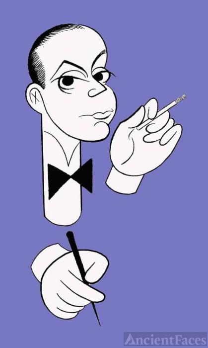 Cole Porter Caricature