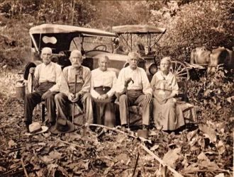 A. F. & Will Waters Civil War Veteran Reunion