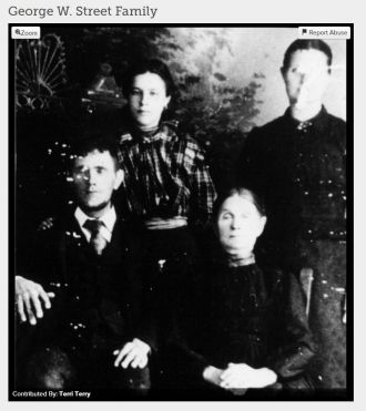George & Catherine (Gray) Street family