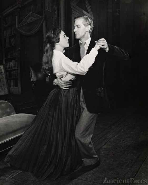 Edward Mulhare and Julie Andrews