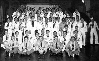 The crew of the USS PC 583