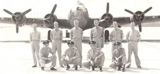 Unknown 8th Air Force Crew Photo