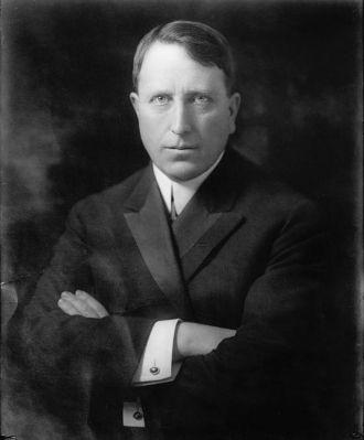 A photo of William Randolph Hearst