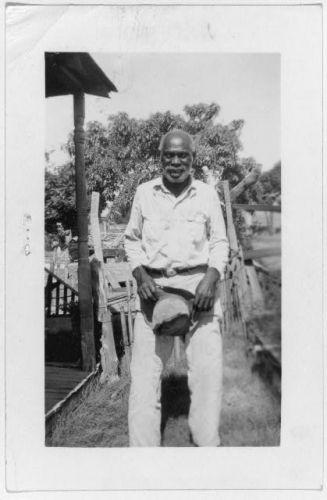 Sam Jones Washington, ex-slave, Ft. Worth