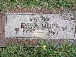 Emma Meier gravesite