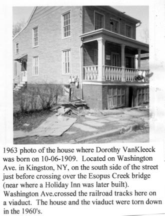 Dorothy Van Kleeck, house
