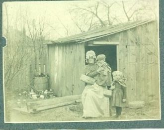 Unknown Woman with Children