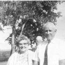 Cora Barton Nicholson and Percy Nicholson