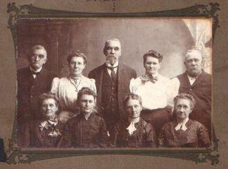 Bedford, IA, Evans Siblings