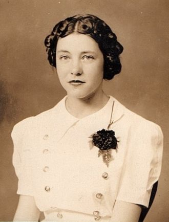 Norma Jean (Roos) Dettmer Confirmation Photo