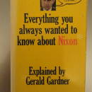 One of his books that I bought.