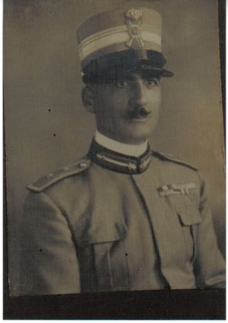 Alfio Spadaro-Catani, Sicily-Italian Army